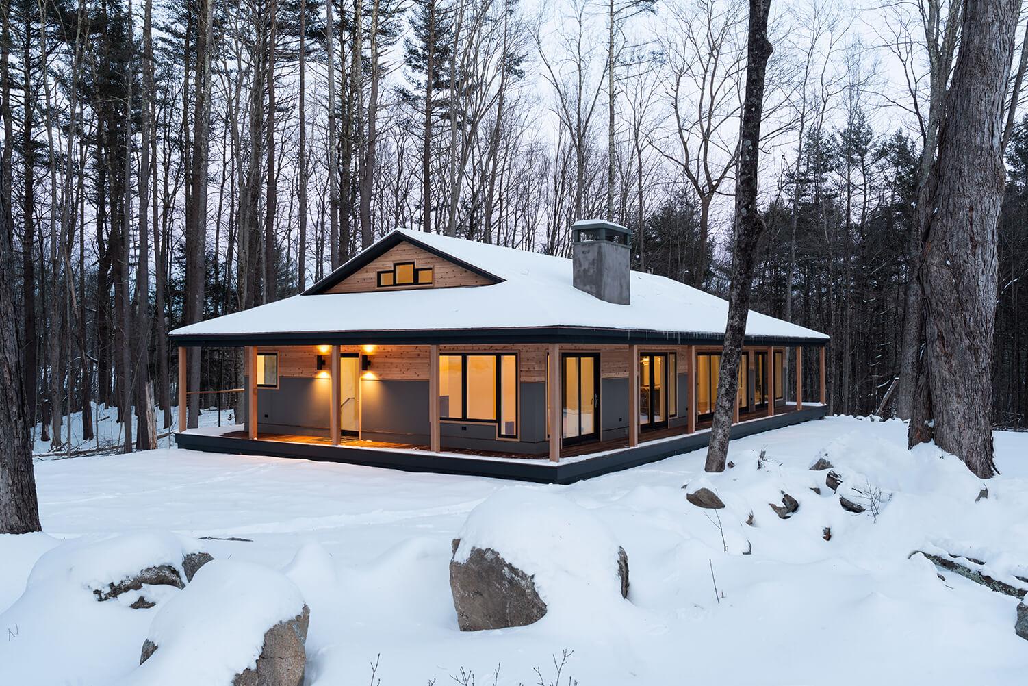Glass House Exterior Design